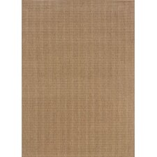 Karavia Brown Solid Indoor/Outdoor Rug
