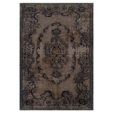 Revival Gray/Black Persian Rug