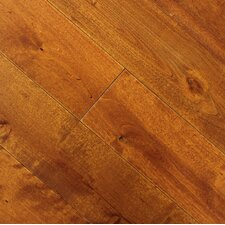"Renaissance 4-3/4"" Solid Birch Flooring in Honey"