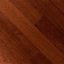 "Samoan 3-5/8"" Solid Mahogany Flooring in Cinnamon"