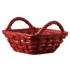 Woven Square Bread Basket