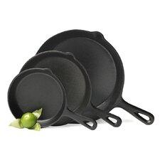 3 Piece Fry Pan Set