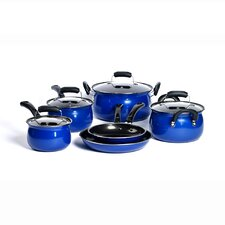 Carbon Steel 10-Piece Cookware Set