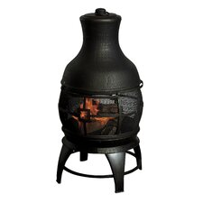 Chimnea Burner in Antique Gold