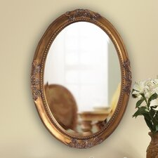 <strong>Howard Elliott</strong> Queen Ann Mirror with Gold Finish
