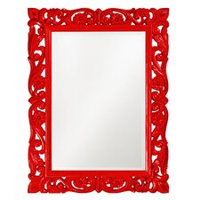 Chateau Mirror in Red