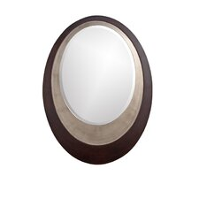 Toby Mirror in Deep Espresso Brown