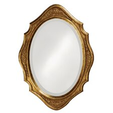 Trafalgar Mirror with Gold Finish