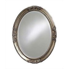 Queen Ann Mirror - Antique Silver