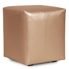 Universal Shimmer Cube Ottoman