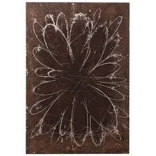 Abstract Flower Wall Art
