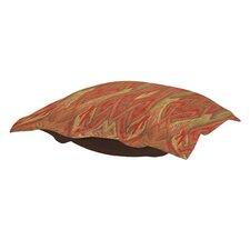 Puff Ikat Ottoman Cushion