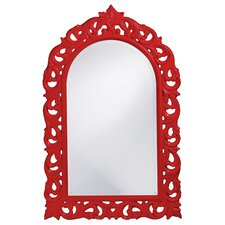 Orleans Mirror in Red