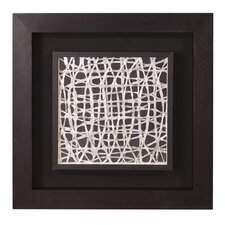 Abstract Design Framed Graphic Art
