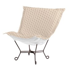 Puff Scroll Geo Lounge Chair