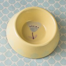 Florence Terracotta Pet Bowl in Floral