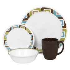 Livingware 16 Piece Dinnerware Set