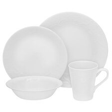 Boutique 16 Piece Vitrelle Glass Dinnerware Set