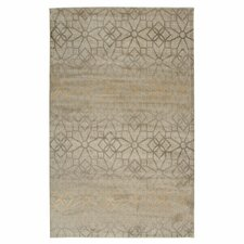 Bayside Ivory Floral/Geometric Area Rug