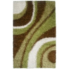 Kempton Shag Green Rug