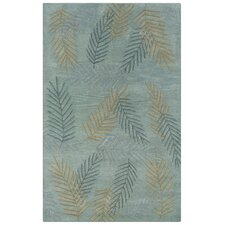 Pandora Light Blue Foliage Rug