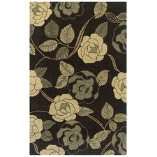 Pandora Brown Floral Rug