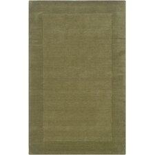 Platoon Green Solid Rug