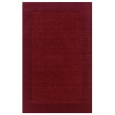 Platoon Red Solid Rug