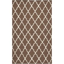 Swing Light Brown Lattice Rug