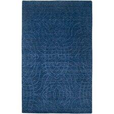 Uptown Indigo Blue Solid Rug