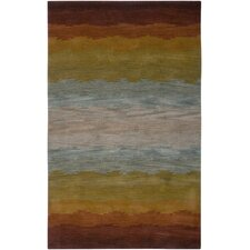 Colours Rust Area Rug