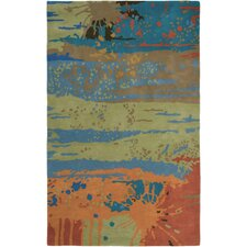 Volare Green Rug