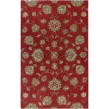 Destiny Red Rug