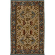 Bentley Beige/Blue Persian Rug