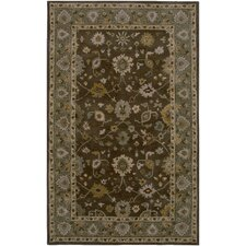 Bentley Brown/Green Persian Rug