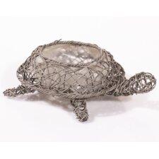 Tortoise Floor Standing Planter in Grey