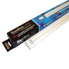 <strong>Aqua Euro USA</strong> 96W Compact FL 50/50 Aquarium Lamp in White