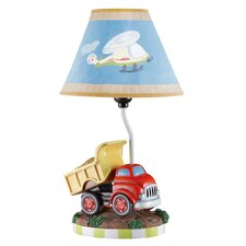 "Transportation 16.3"" H Table Lamp with Empire Shade"