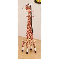 Fantasy Fields - Safari Stool w/Coat Rack - Giraffe