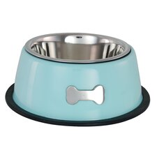 Single Dog Bowl inBlue