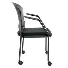 Breeze 4 Leg Side Chair with Casters