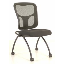 Flip Nesting Chair with Arms (Set of 2)