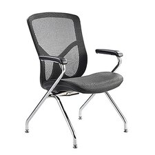 Fuzion Luxury Guest Chair with Aluminum Frame