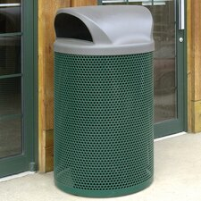 City Metal Waste Container