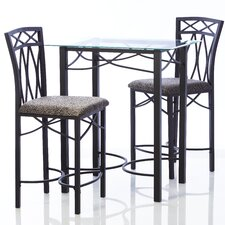 Abigail 3-Piece Pub Table Set