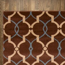 Abigail Area Rug in Chocolate