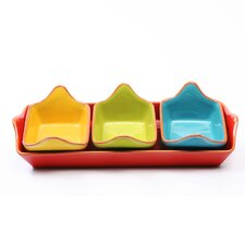 Costa Del Sol 4 Piece Serving Set