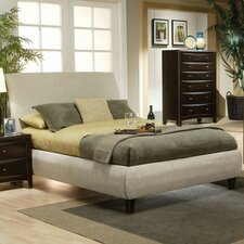 Applewood Contemporary Upholstered Bed