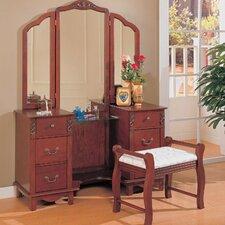 Winlock Vanity Set with Mirror