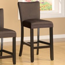 "Bullhead City 24"" Bar Stool with Cushion"